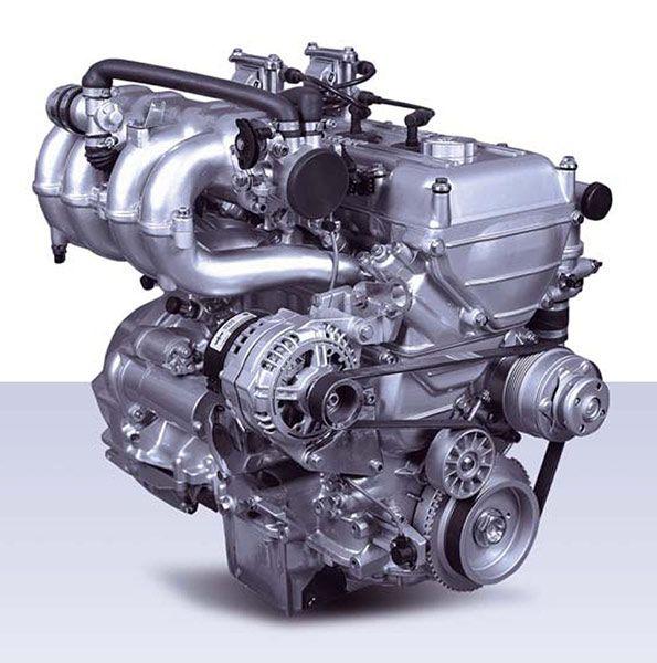С какого года двигатель является запчастью